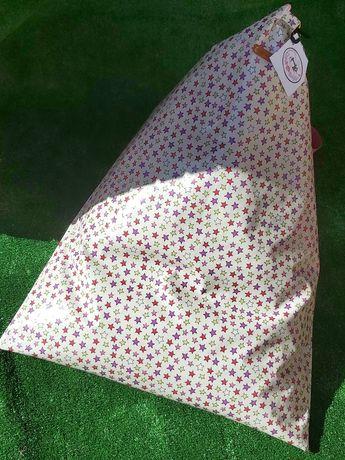 Puff de praia em tecido ou impermeavel