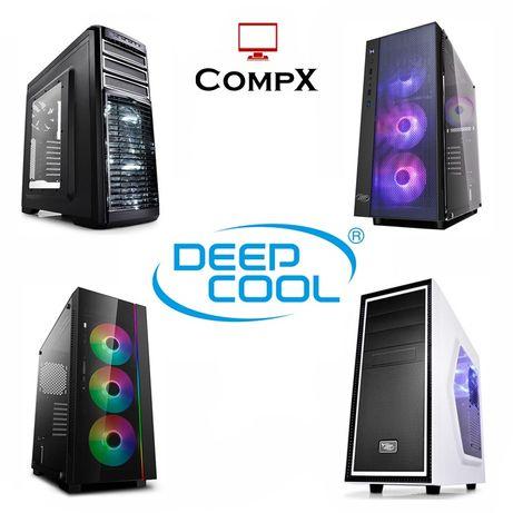Новые! Корпуса Deepcool:Mesh Earlkase ADD-RGB Matrexx Kendomen Smarter