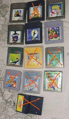 Jogos Gameboy - GTA, Mr Nutz, Driver, Gex, Daffy duck, Disney