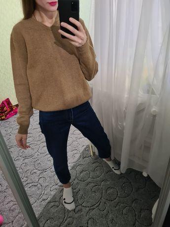 Мягенький шерстяной, кашемировый свитер, джемпер оверсайз Chloe
