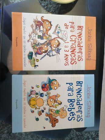 """Livros """"Brincadeiras para bebés 0-1 anos"""""""