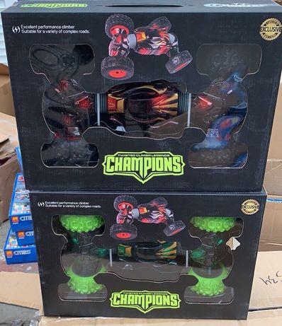 Машинка на Радио Управлении-Машинка перевертыш,Champions трансформер!