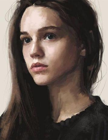 Портрет фарбами, олівцем, будь який формат