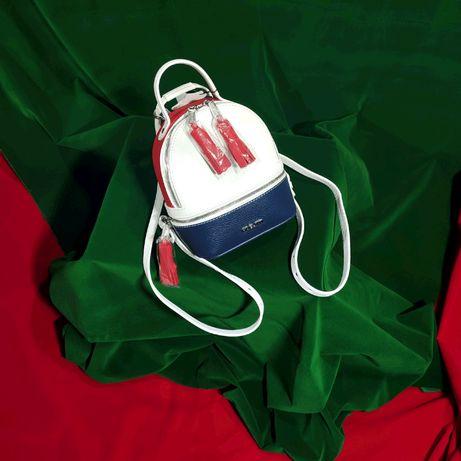 Новый женский кожаный рюкзак Fidelitti