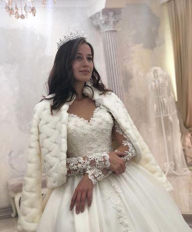 Новая шубка для невесты