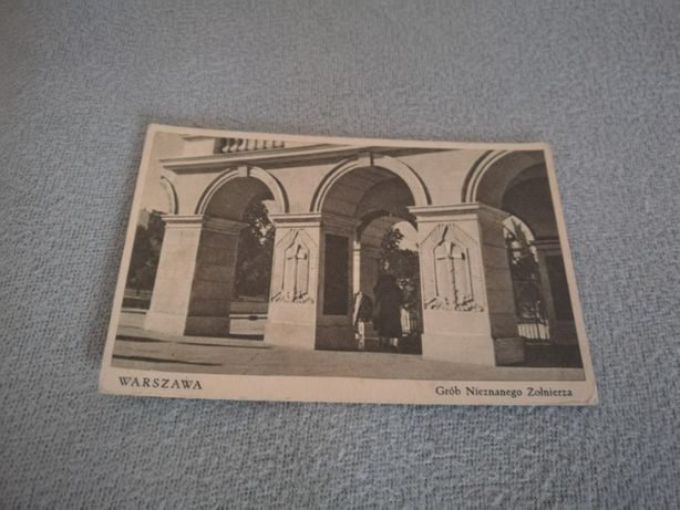 Pocztówka Warszawa Grób Nieznanego Żołnierza