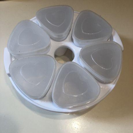 Йогуртница для мультиварки 6 порций стаканы баночки иогуртница