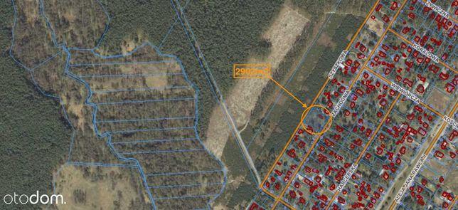 Działka budowlana - 2902m2 - bliskość lasu
