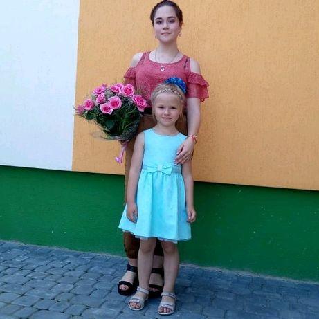 Красивое платье 3-5лет