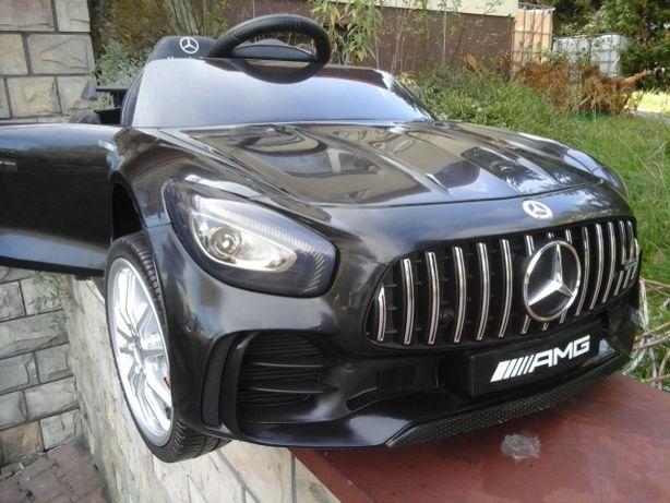 Mercedes auto samochód na akumulator MOTOR Quad fotel SKÓRA
