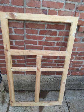 Продам деревянные оконные рамы новые