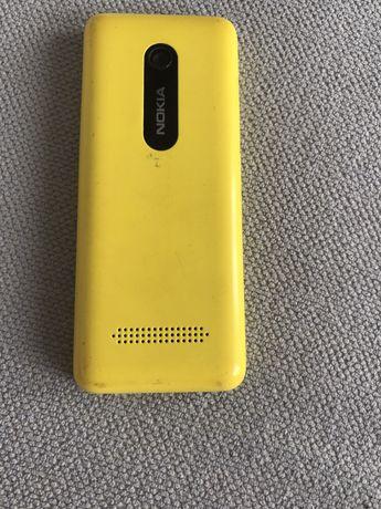 Телефон Нокия 206 Asha(жёлтый)