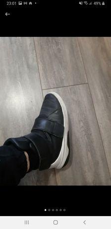кроссовки,кожа Nike