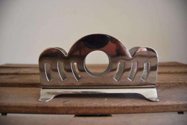 Porta Guardanapos metálico - Anos 60 (herança com mais de 50 anos)