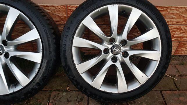 """Felgi aluminiowe Hyundai i40.  5x114,3 18"""" z oponami letnimi 225x45x18"""