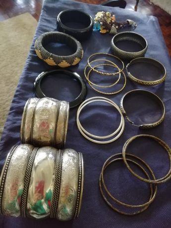 Bijuterias várias pulseiras