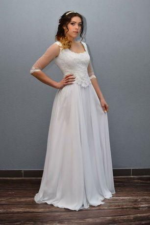 Suknia ślubna rozm 38 biała Diana nr 5