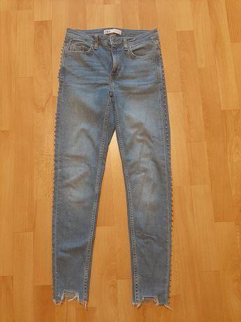 Spodnie dżinsowe damskie Zara r. 34 (XS)