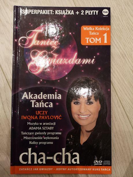 Nauka tańca Cha-cha książka +2płyty dvd