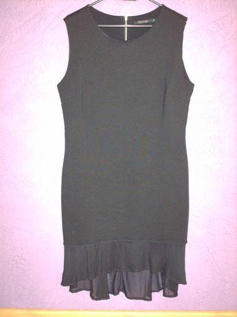 Czarna elegancka sukienka SOUL RIVER, rozm. XL