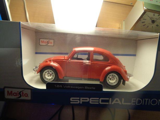 Volkswagen Beetle 1:24 Miniatura Oferta Envio Registado