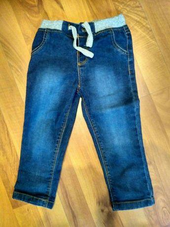 Jeansy spodnie chłopięce r 92