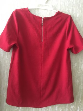 Легкая блузка New look з коротким рукавом