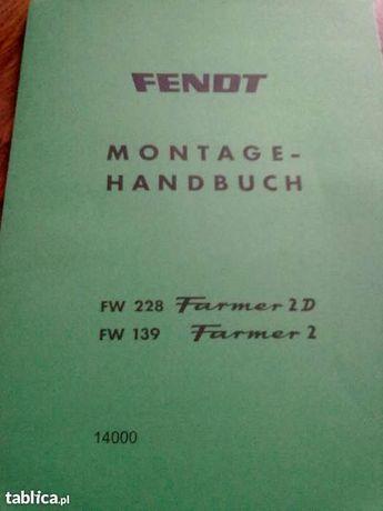 książka napraw katalog fendt farmer 2-2s-3s-4s 103 s- 105s