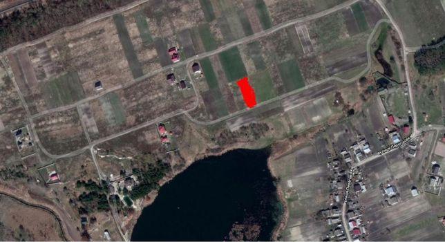 Продам земельну ділянку в с.Кустин, 12.6 соток під будівництво