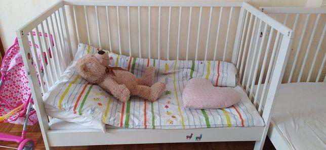2 łóżeczka rozkładane