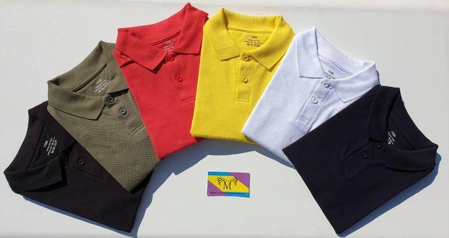 Детская футболка-поло для мальчиков и девочек - ОПТ - МЕЛКИЙ ОПТ