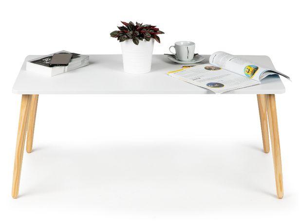 Stół stolik kawowy skandynawski nowoczesny 100cm #WYJ-610