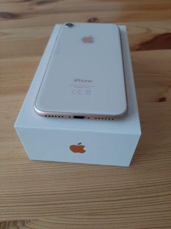 telefon iphone8 64gb rosegold gwarancja stan dobry z fakturą + 2x etui