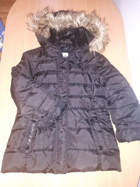 Kurtka zimowa Zara 116-128cm