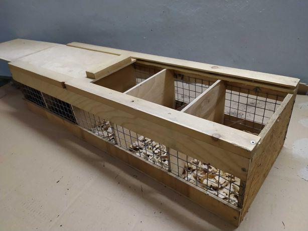 Transporterka klatka transportowa dla szynszyli i małych zwierząt