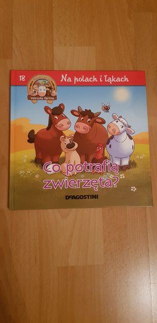 Ksiazka dla dzieci Co potrafią zwierzęta?