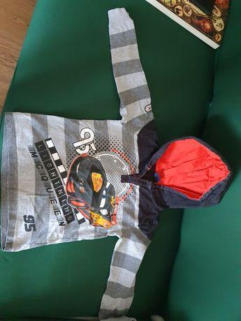 Ubranka chłopięce koszule bluzki dl rękaw bluzy 110