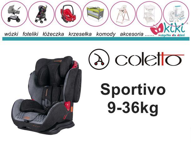 Fotelik samochodowy Coletto Sportivo 9-36 kg
