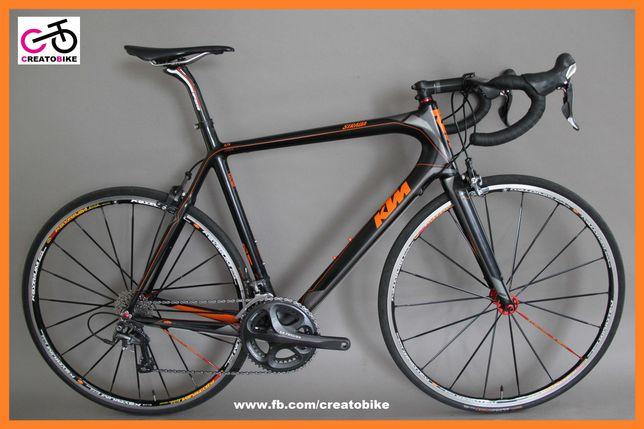 Rower Szosowy Karbonowy KTM STRADA 5000 Szosa Carbon Ultegra Gwarancja