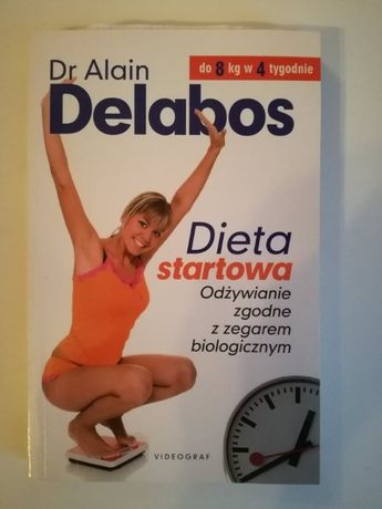 """Dieta Startowa"" książka Delabos"