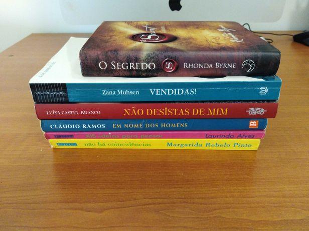 Conjunto 6 livros