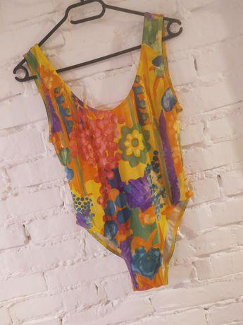 Jednoczęściowy strój kąpielowy kolorowy xl 42