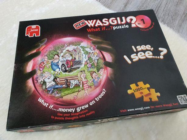 JUMBO puzzle Wasgij What If Money Grew On Trees No 1 na 1000 Elementów