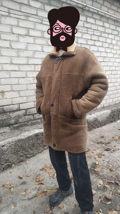 Дубленка мужская в хорошем состоянии. Донецк - изображение 1