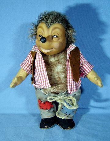 Кукла еж, ежик Mecki, немецкий Steiff Германия – 26 см