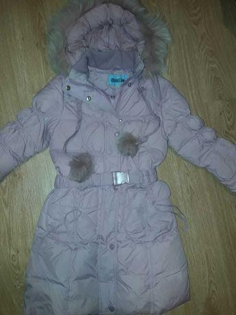 Куртка пуховик для девочек