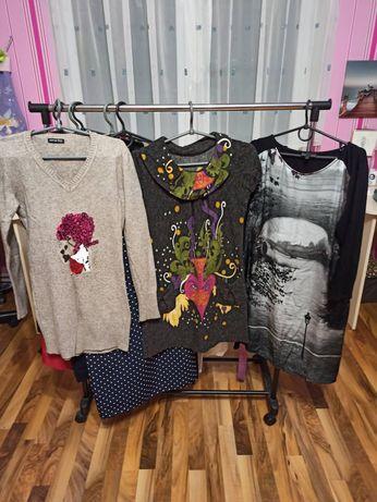 Женские вещи на худеньких платья, джинсы, свитера, футболки, жилетки