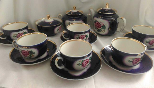 Дружковский чайный сервиз на 6 персон