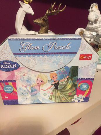 Glam Puzzle brokat bdb kraina lodu frozen