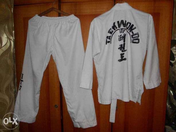 Кимоно для Taekwon-do, Текван-до - размер 46-48 унисекс